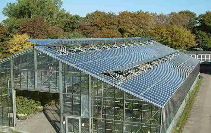 گلخانه خورشیدی راه بهینه سازی مصرف سوخت