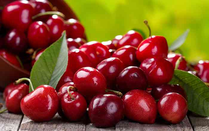 Nutrient deficiency in Cherry